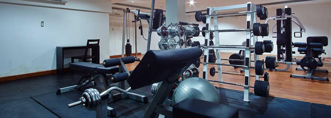 bali villa tarana - gym