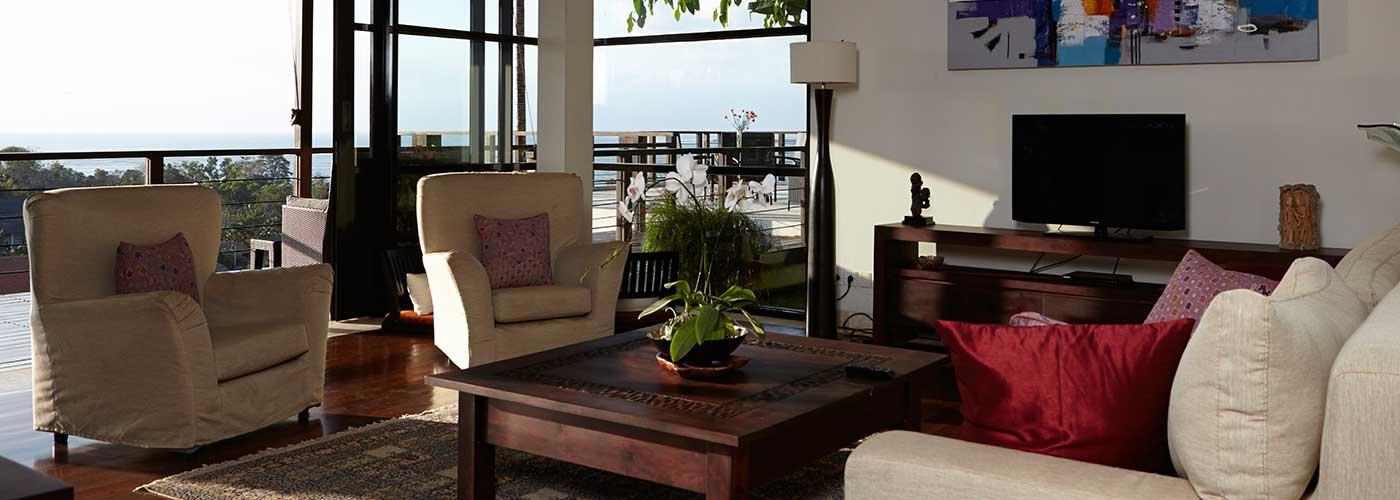 bali villa tarana - living-rooms